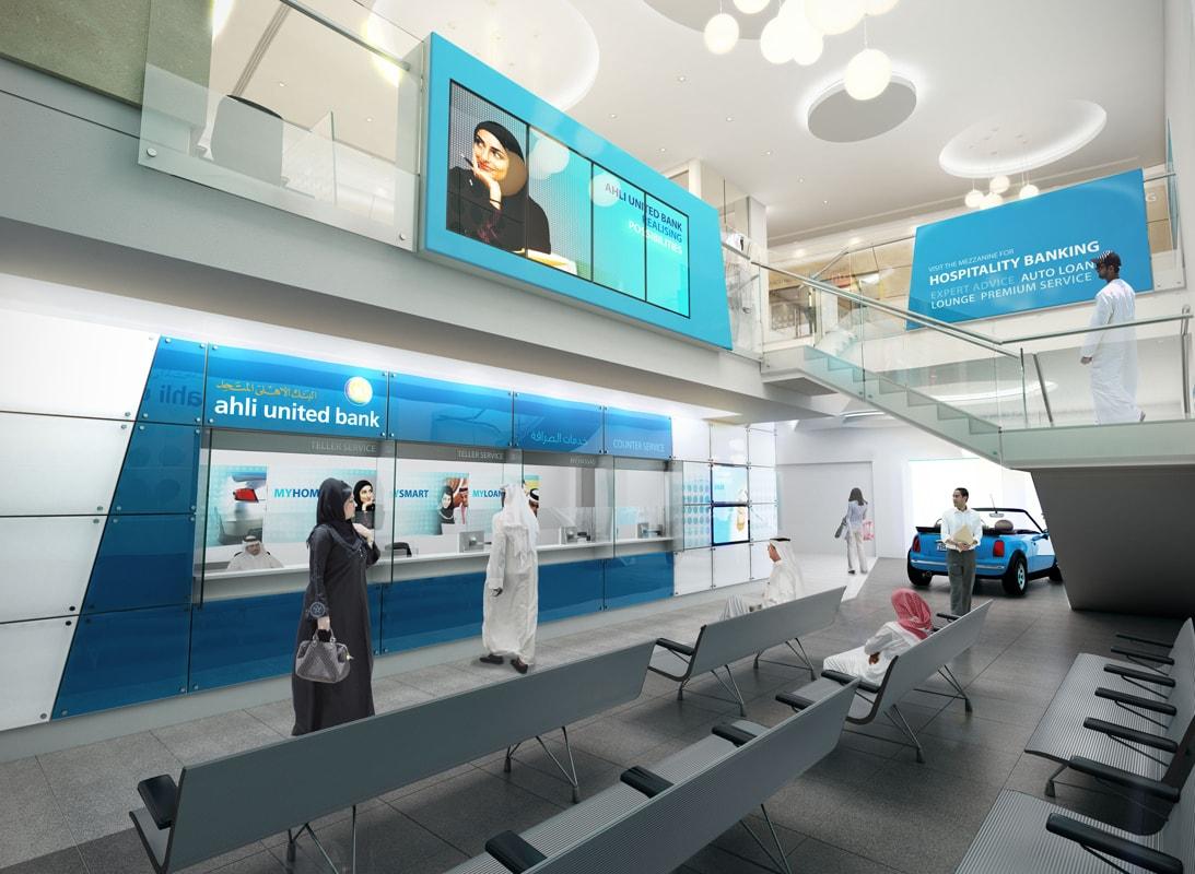 Ahli United Bank Lom Architecture And Design