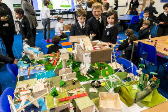 LOM architecture and design participate in Architecture In Schools with London Open City