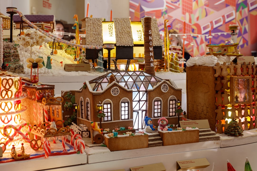 Gingerbread City coworking space
