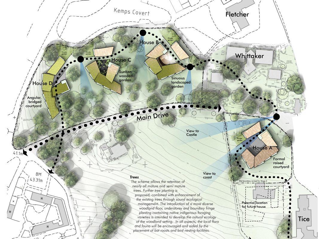 Atlantic College competition site plan