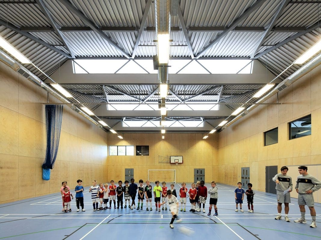Cedars Youth and Community Centre sports hall