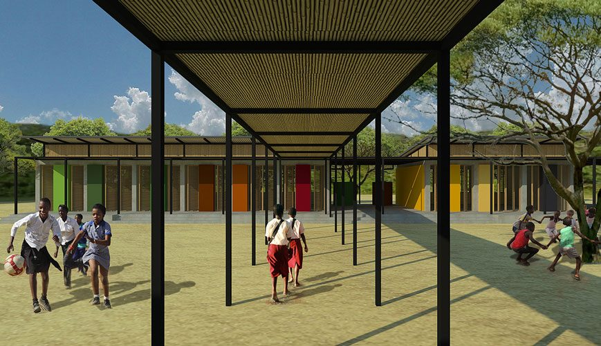 GCB community school concept design