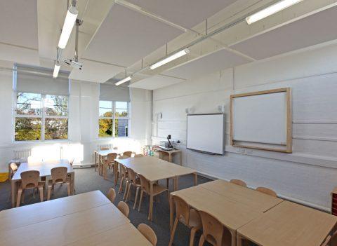 Glebe Primary School classroom