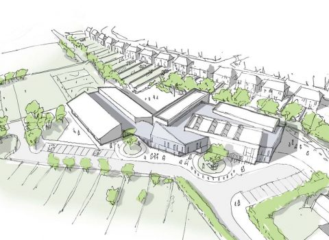 Harrow Primary Expansion masterplan