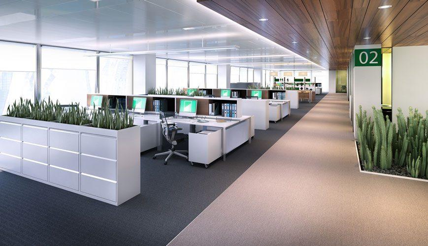 King Abdullah Economic City workplace desks
