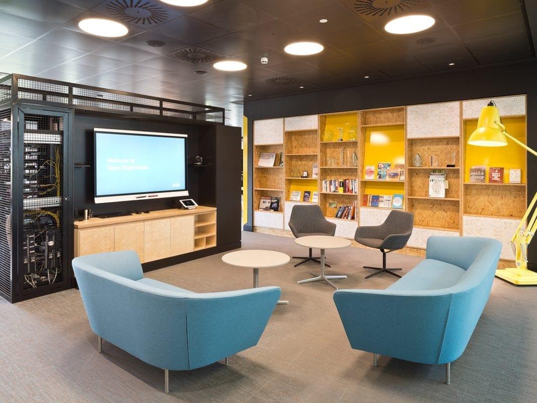 RBS Open Experience interior