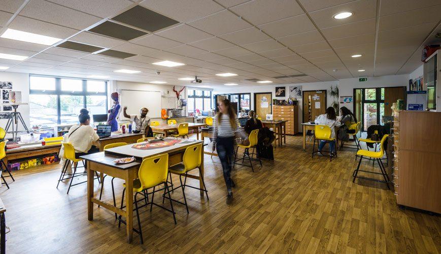 Stanmore College interior