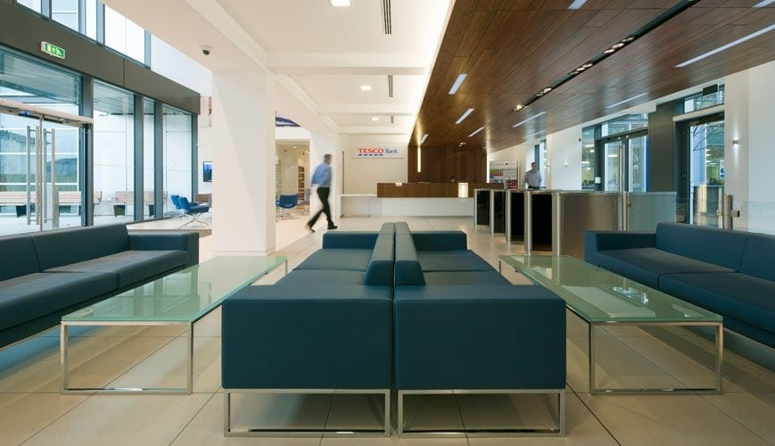 Tesco Bank workplace