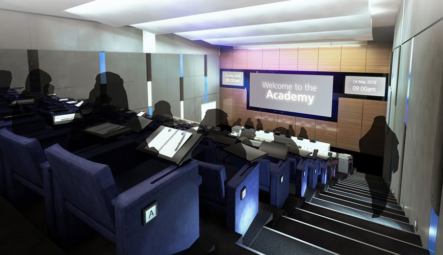 The Academy auditorium