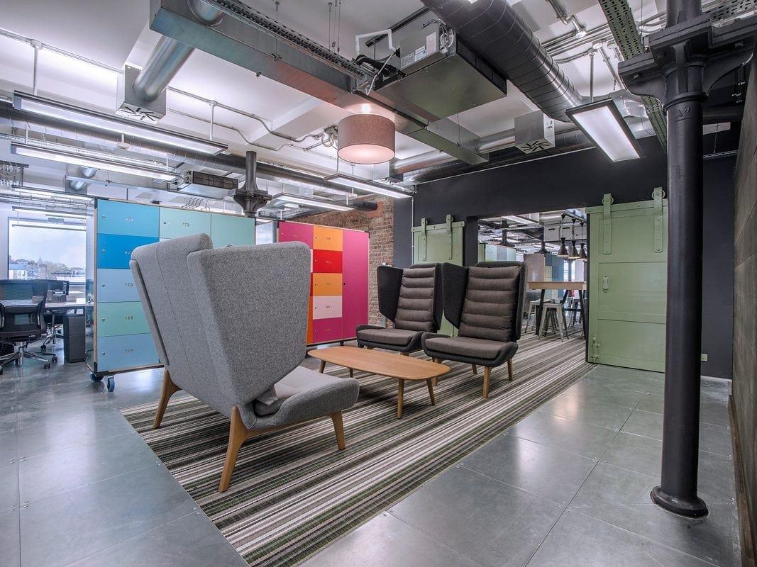 Lever Building informal workspace