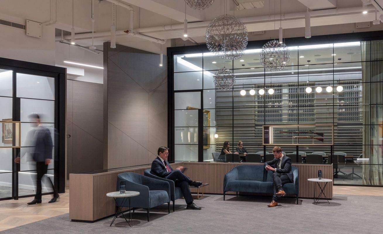 Executive meeting centre - waiting area