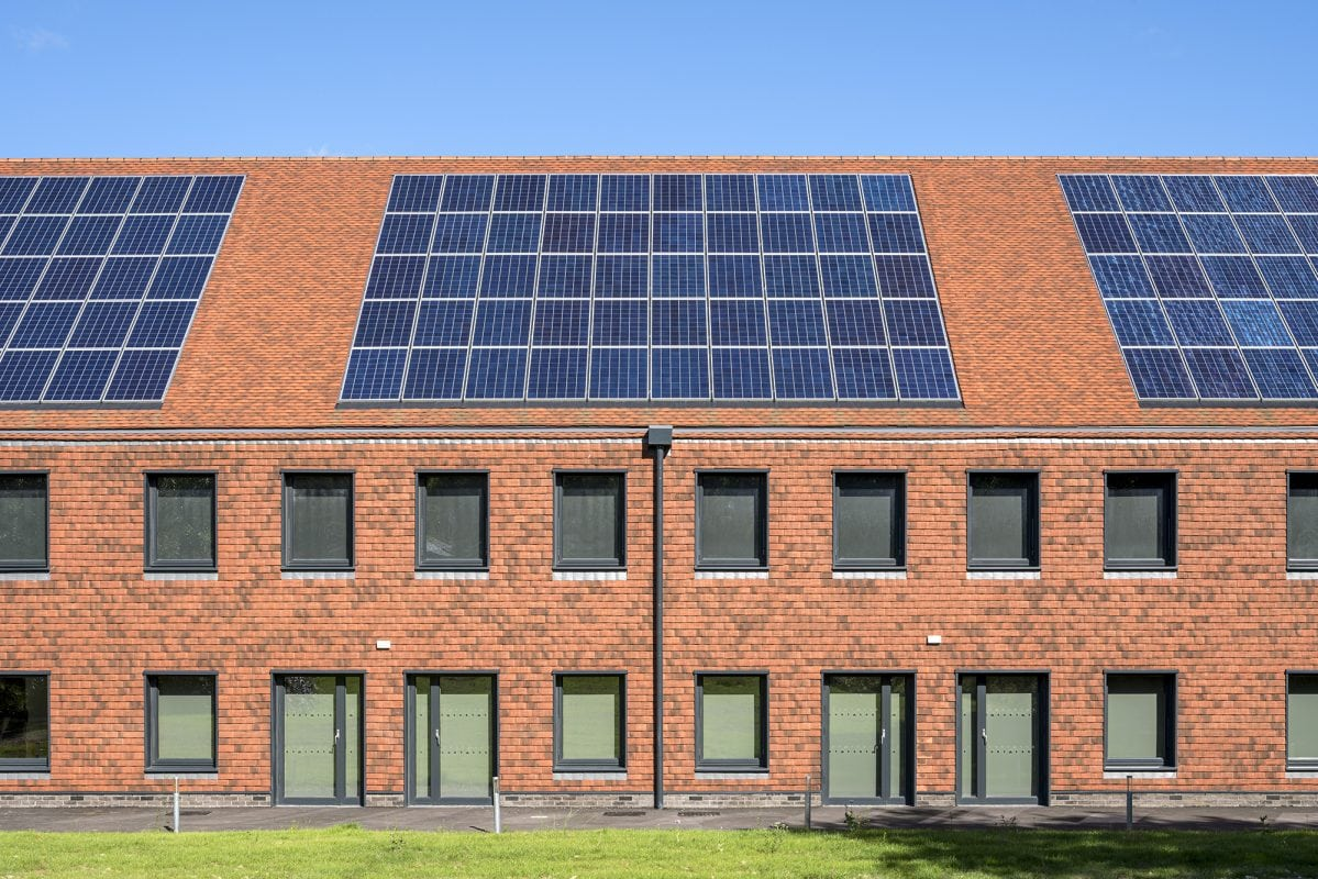 QEF Care and Rehabilitation Centre solar panels