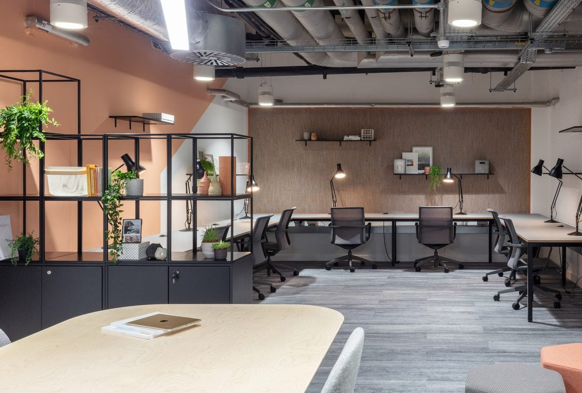 The Bunker - tech developer workspace workbench